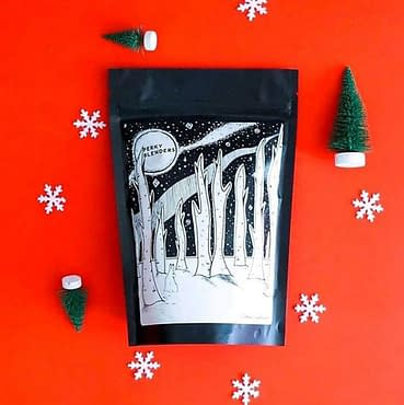 Product Illustration for Perky Blenders Xmas Coffee Bag